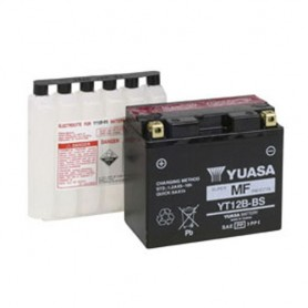 Batería Moto Yuasa Agm YT12BBS 12V 10Ah
