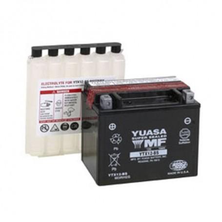 Batería Moto Yuasa Agm YTX12BS 12V 10Ah