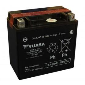 Batería Moto Yuasa Agm YTX14LBS 12V 12Ah