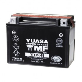 Batería Moto Yuasa Agm YTX15LBS 12V 13Ah