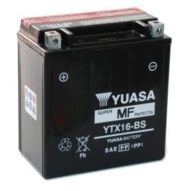 Batería Moto Yuasa Agm YTX16BS 12V 14Ah