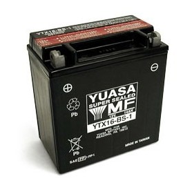 Batería Moto Yuasa Agm YTX16BS1 12V 14Ah