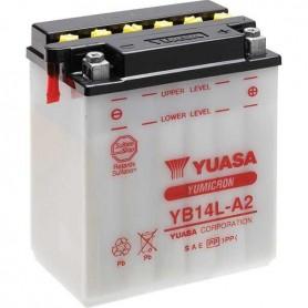 Batería Moto YUASA YB14LA2 12V 14Ah