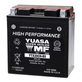 Batería Moto Yuasa Agm YTX20CHBS 12V 18Ah