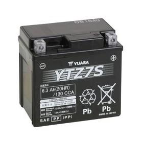 Batería Moto Yuasa Agm YTZ7S 12V 6Ah