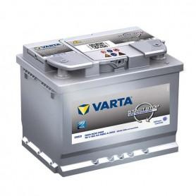 Batería Coche VARTA D53 12V 60Ah Start Stop