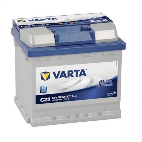 Batería Coche VARTA C22 12V 52Ah