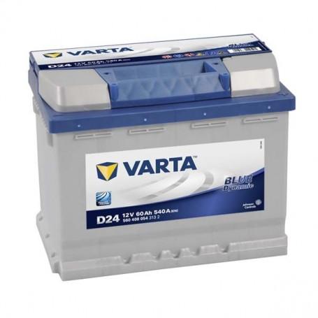 Batería Coche VARTA D24 12V 60Ah