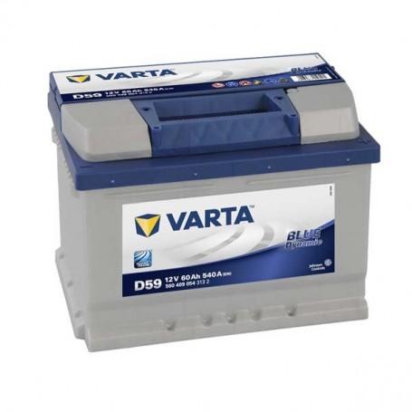 Batería Coche VARTA D59 12V 60Ah
