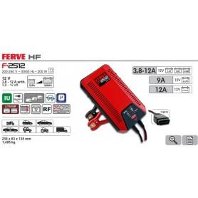 Cargador Baterías Ferve F2512 12-360 Ah 12V