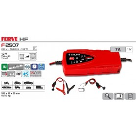 Cargador Baterías FERVE HF F2507 14-230 Ah 12V