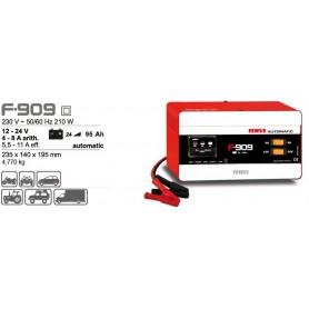 Cargador Baterías Ferve F909 12-24V 25-95Ah