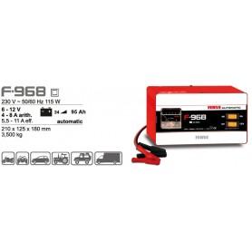 Cargador Baterías Ferve F968 6-12V 25-95Ah