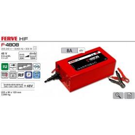 Cargador Baterías Ferve F4808 20-120Ah 48V