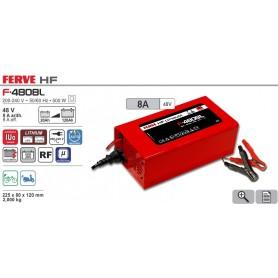 Cargador Baterías Ferve F4808L 20-120Ah 48V