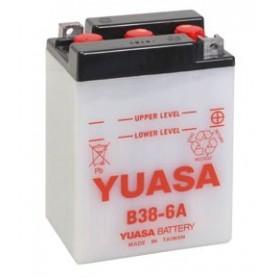 Batería Moto YUASA B386A 6V 13Ah