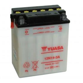 Batería Moto YUASA 12N143A 12V 14Ah