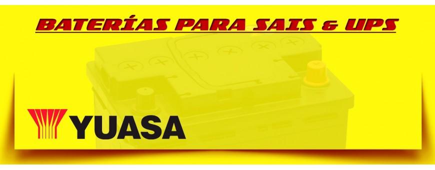 Tienda de Baterías para Sais y Ups en Barcelona. Baterías Yuasa Agm.