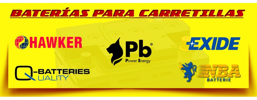 Baterías para Carretillas en Barcelona - Baterías para Elevadores.