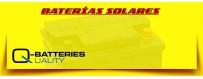 Comprar Baterías Ciclicas Q-Batteries de agm para Instalaciones Solares en Barcelona