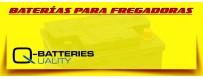Comprar Baterías Agm Quality Batteries para Barredoras y Fregadoras Eléctricas Industriales.