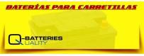 Comprar Baterías de Agm para Carretillas, Plataformas y Apiladores.