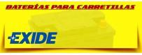 Baterías de Gel Exide para Carretillas, Apiladores y Plataformas.