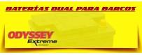 Comprar Baterías Odyssey en Barcelona. Baterías para Lanchas, Barcos y Veleros