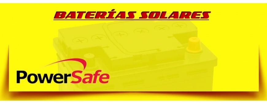 Comprar Acumuladores Solares | Baterías Power Safe en Barcelona