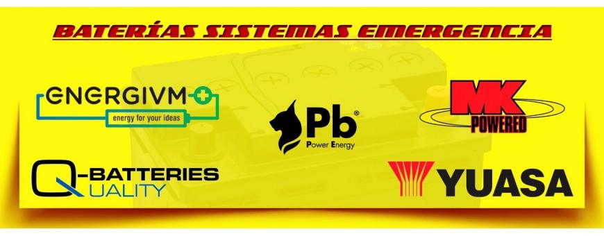 Comprar Baterías Agm Cíclicas Yuasa, Energivm, Q-Batteries Barcelona.