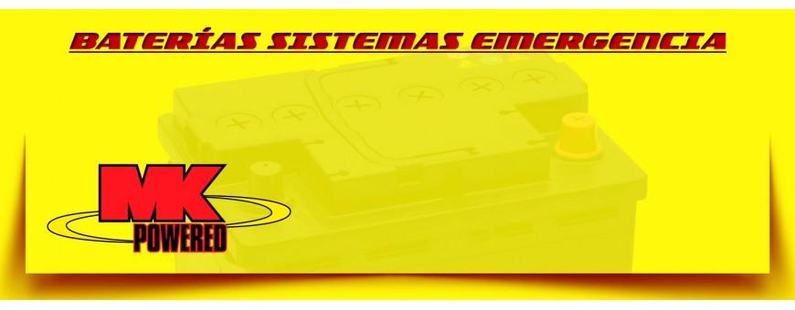 Comprar Baterías Mk de Agm. Baterías de Emergencia en Barcelona.