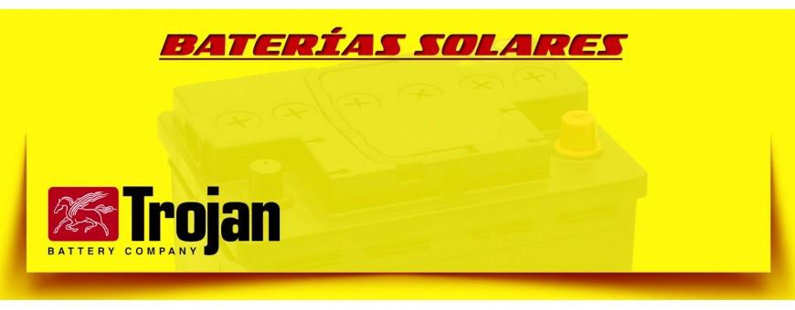 Comprar Baterías Trojan de Agm para Instalaciones Solares en Barcelona