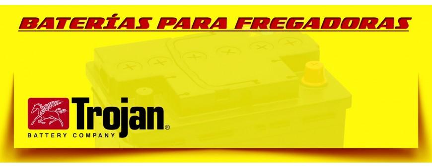 Comprar Baterías Trojan para Barredoras y Fregadoras Eléctricas Industriales en Barcelona.