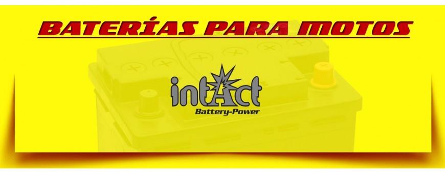 Tienda de Baterías para Motos en Barcelona. Baterías Intact Gel. Montaje Gratuito.