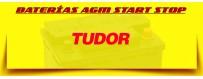 Comprar Baterías Coche Start Stop Tudor en Barcelona. Cambio de Batería Gratuito.