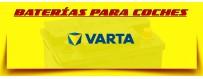 Comprar Baterías Varta Blue en Barcelona. Baterías para Carro. Baterías para Coches Baratas.