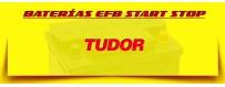 Comprar Baterías Tudor Start Stop para Coches en Barcelona. Tienda de Baterías Tudor.