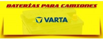 Comprar Baterías para Camión Varta en Barcelona. Baterías Varta 12V 180ah y 220ah.