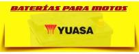 Tienda Baterías Yuasa Moto Agm Barcelona. Comprar Baterías de 12 Voltios.
