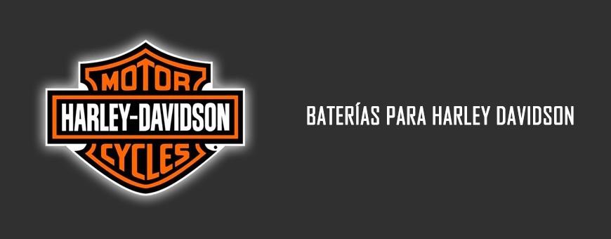 Comprar Baterías de Agm y Gel para Harley Davidson en Barcelona. Montaje Gratuito.