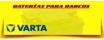 Distribuidor Oficial Baterías Varta en Barcelona. Batería para Lanchas, Barcos y Veleros.