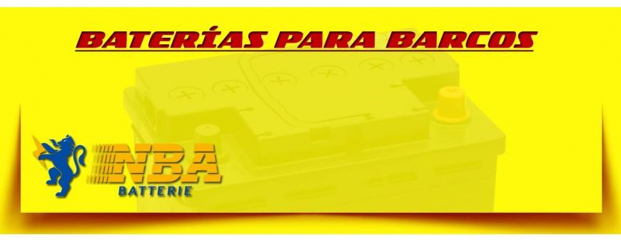 Comprar en Barcelona Baterías Nba Batterie 12 Voltios para Lanchas, Barcos y Veleros.