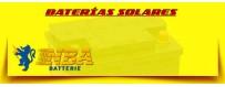 Baterías Cíclicas Solares Gel |Comprar Baterías Nba para Instalaciones Solares
