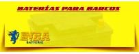 Baterías de Gel Nba 12 Voltios para Lanchas, Barcos y Veleros en Barcelona.